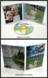 CD BOX COLLAGE